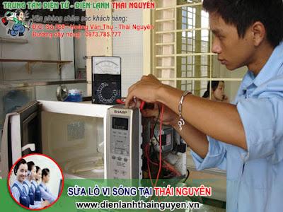 Sửa Lò vi sóng tại nhà Thái Nguyên
