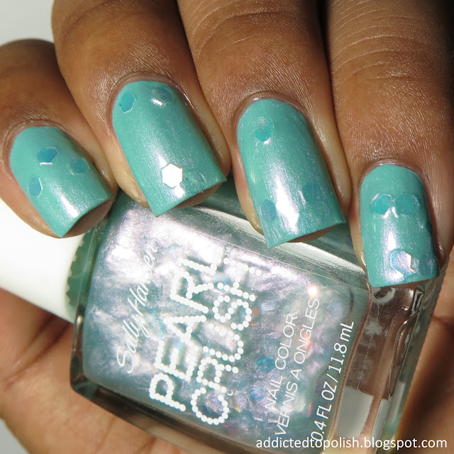 sally hansen mermint pearl crush
