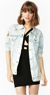In The Rough Denim Jacket Nasty gal