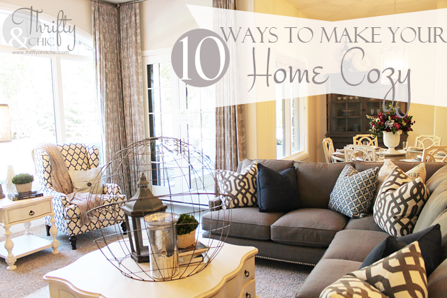 Tips on making your home cozy for the winter