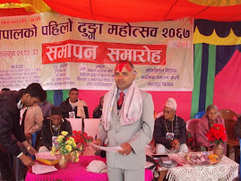 Bishnu Poudel gets high respect from stone Festival due to concept of first Stone festival