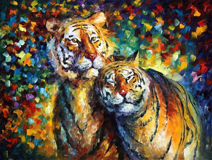 Famous Line Art Paintings : Leonid afremov pintor bielorruso
