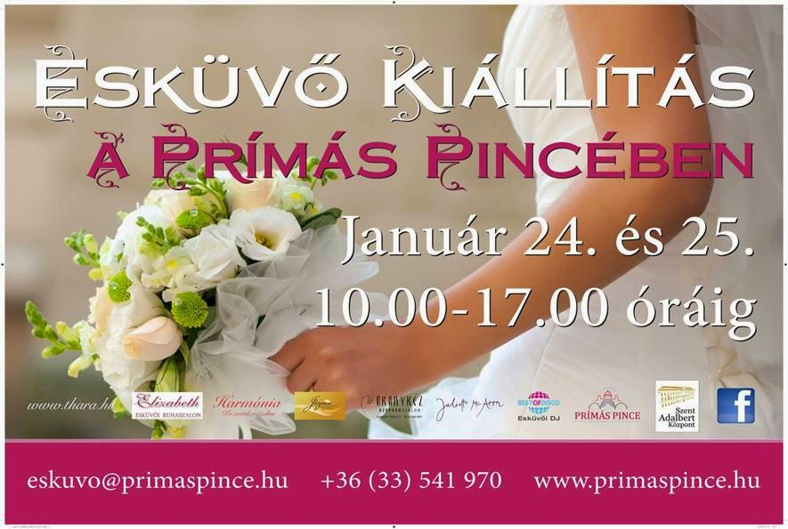 Esküvői kiállítás plakát