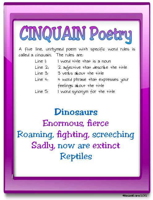 cinquain poem about flowers - photo #36