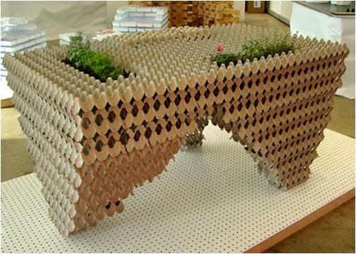 APUNTES - REVISTA DIGITAL DE ARQUITECTURA: Muebles con material ...