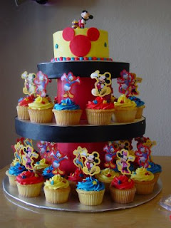 Beautiful Mickey Mouse Cupcakes Toppers