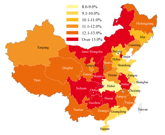I Am Projecting All Of China To Have A Per Capita Gdp Of About 9000 10000 In 2010 Us Dollars In 2015