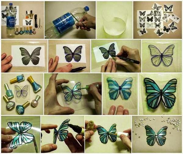 passo à passo borboleta