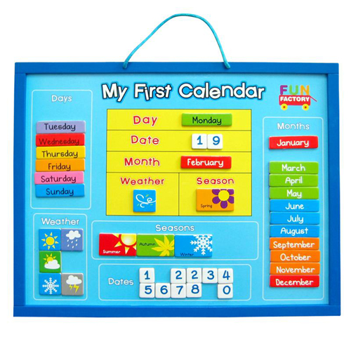 Kids Learning Calendar : Play hive toys educational kids learning part