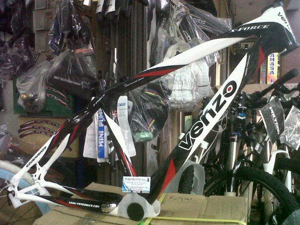 jual frame venzo force carbon