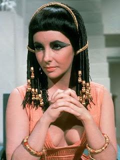 FOTD inspiration- Elizabeth Taylor in Cleopatra
