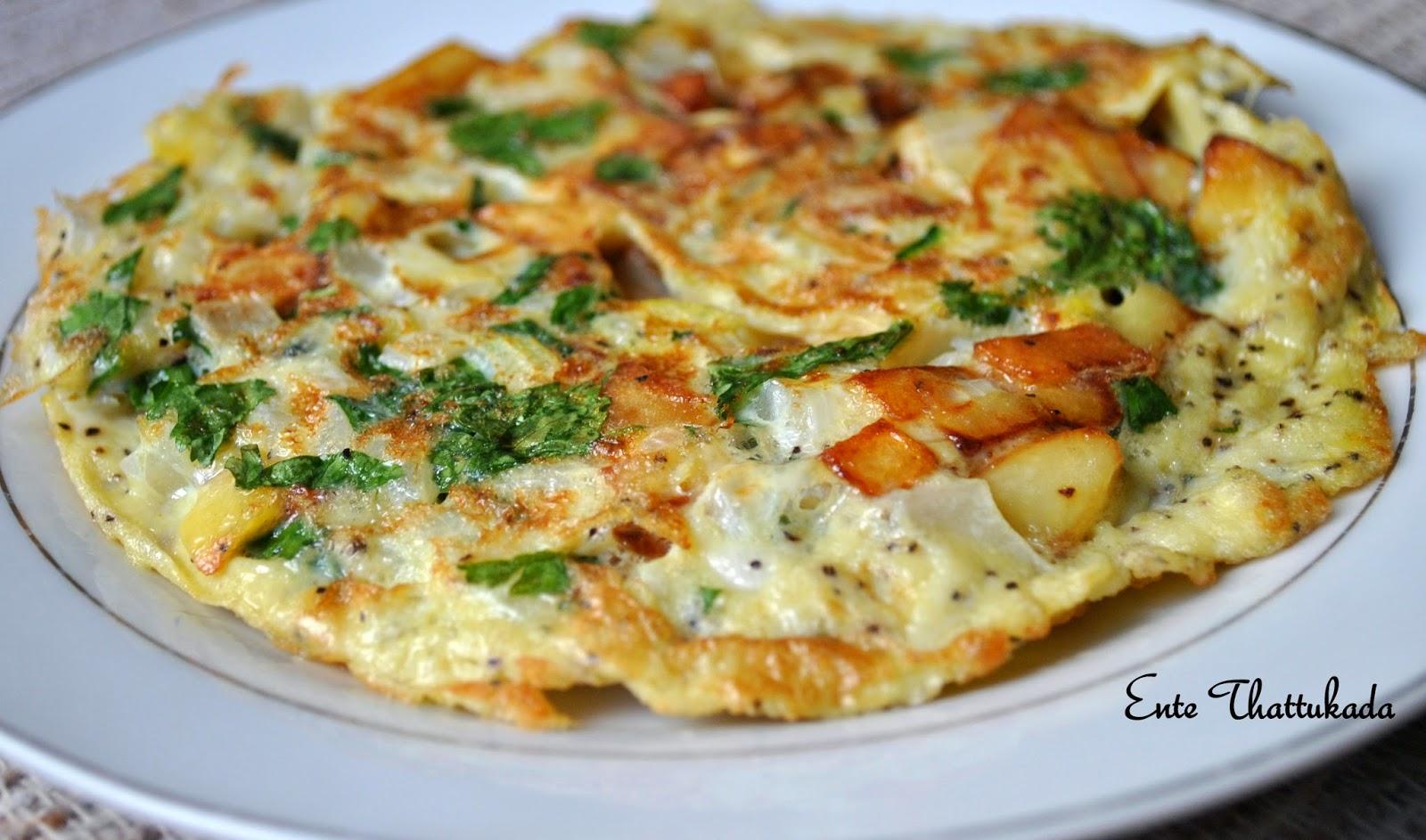 Ente ThattukadaSpanish Omelette