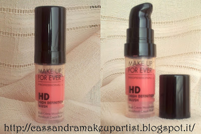HD blush Make Up For Ever MUFE recensione review prezzo inci swatch
