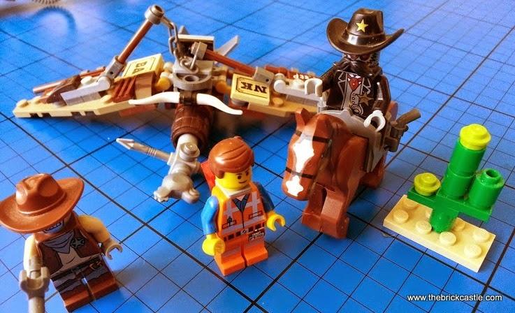 LEGO Getaway Glider set 70800 review Emmet Sheriff Deputron