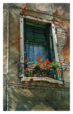Venice Window Flowers
