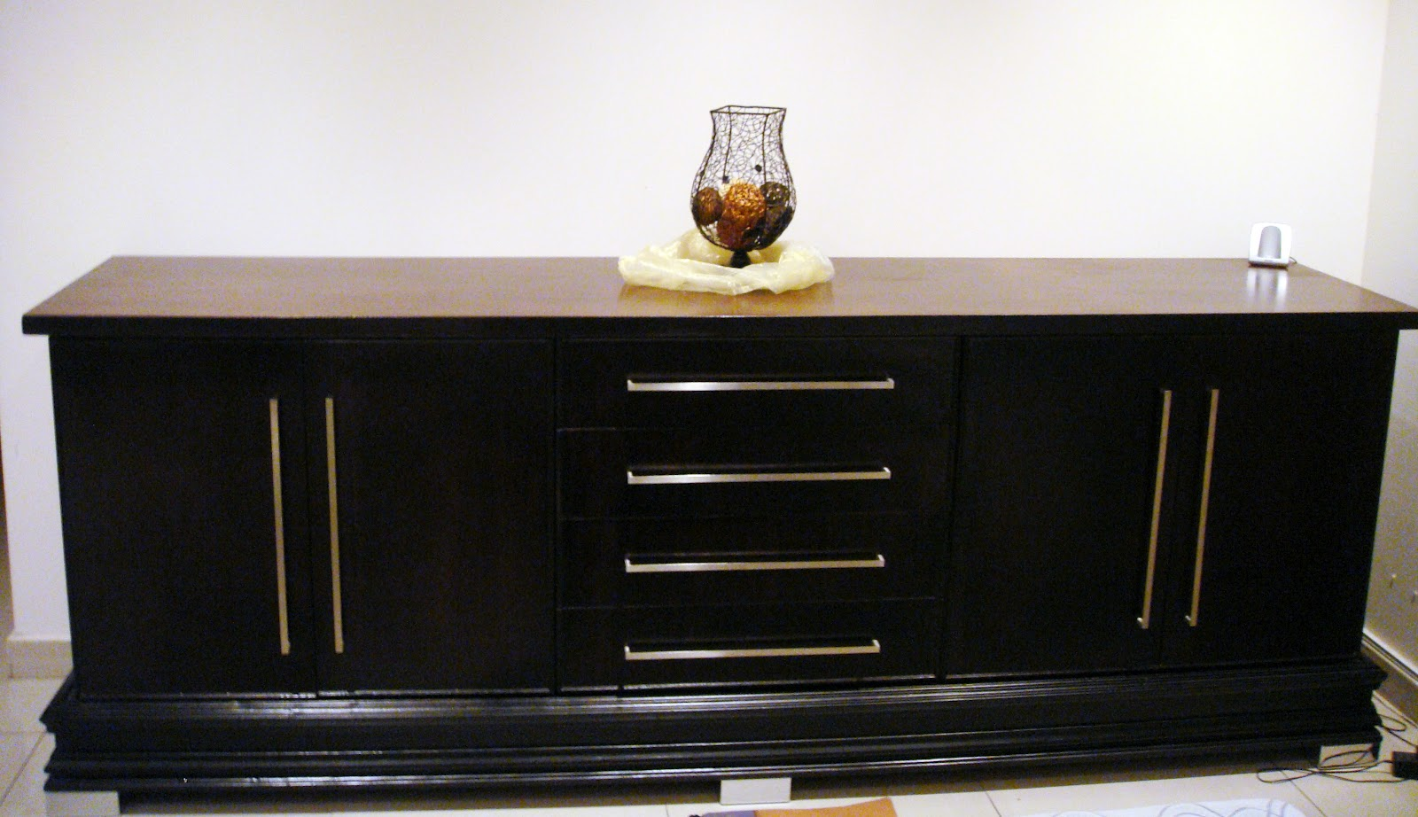 Custom carpentry dining room sideboard for Dining room buffet