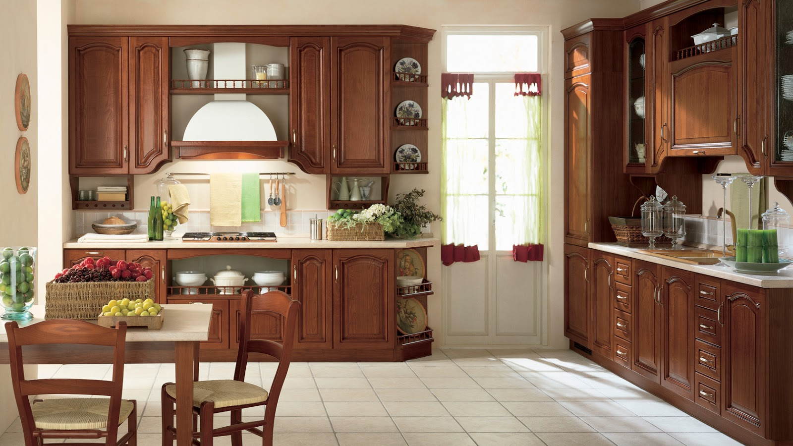 Cucine Classiche: Scavolini Margot Cucina Classica Elegante. #3F2217 1600 900 Produttori Di Cucine Classiche