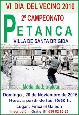 Campeonato Petanca VI DIA DEL VECINO