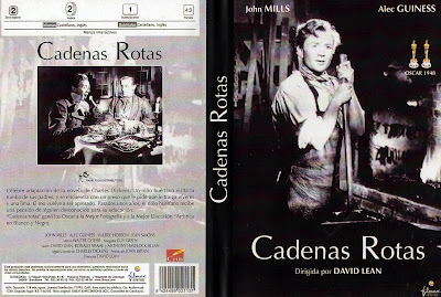 Cover dvd: Cadenas Rotas (Grandes Esperanzas) | 1946 | Great Expectations