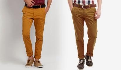 Trend Celana Chino Pria terbaru