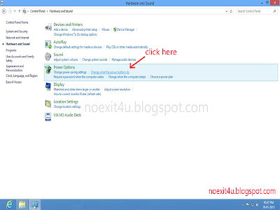 ENABLE HIBERNATE OPTION IN WINDOWS 8
