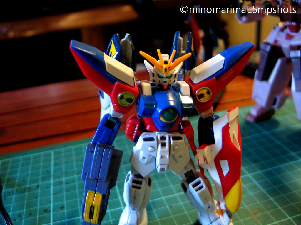 Minor Shots Retro The 1 144 No Grade Wing Gundam Zero My Twin Brother Used To Have One When We Were Starting Out In Our Fandom But Both Lost Old Kits