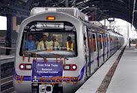 Delhi Metro Badarpur-Faridabad line
