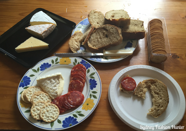 Cheese & Crackers For Lunch