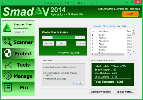 Download Smadav 2014 Rev. 9.7.1