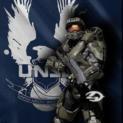 Halo 4 iPad Wallpaper UNSC