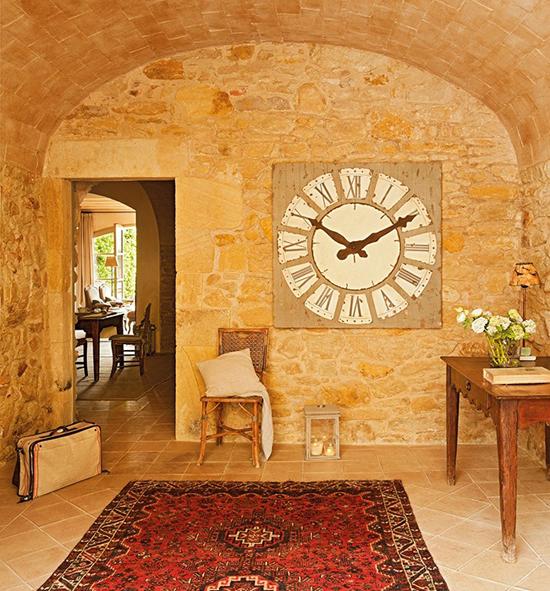 Estilo rustico casa de vacaciones rustica for Interni casa campagna