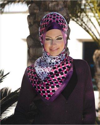 طريقة لف الحجاب التركي - لف الحجاب التركي - الحجاب التركي