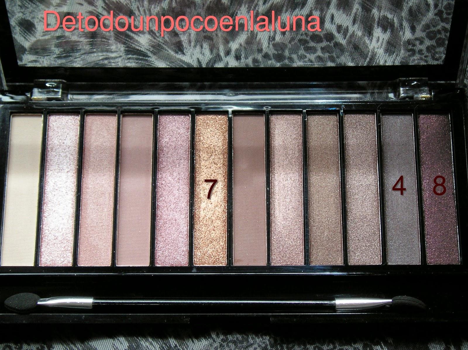 paleta iconic 3 makeup revolution