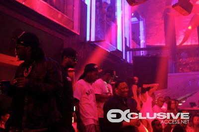 fotos de lil wayne en el club liv