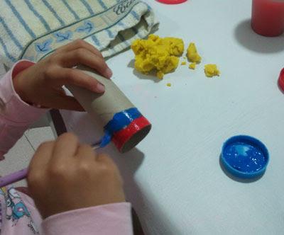 colorear el rollo