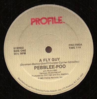 Pebblee-Poo ‎– A Fly Guy (1985, 128) 12''