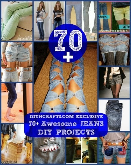 70 awesome jeans diy projects refashioning slimming for Epic diy projects