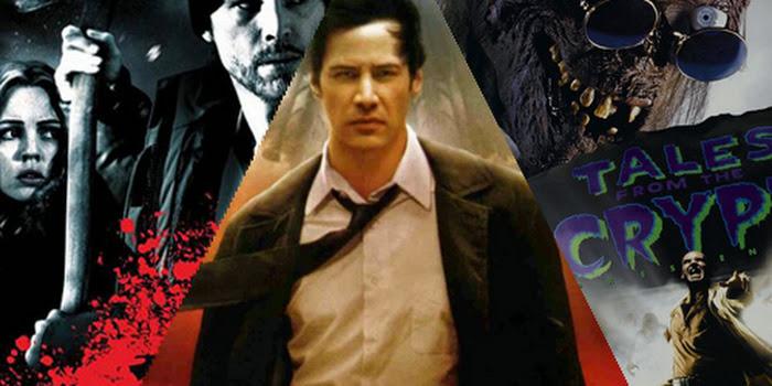 Cinco Filmes de Terror baseados em HQs
