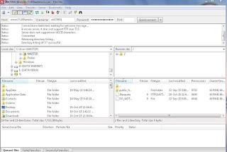 Proses upload file website