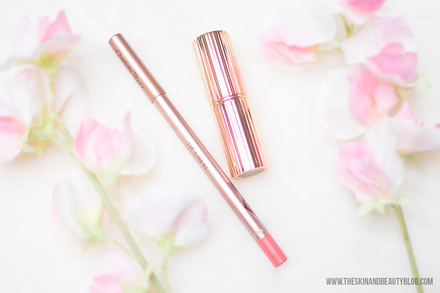 Charlotte Tilbury Bitch Perfect and Pink Venus Swatches
