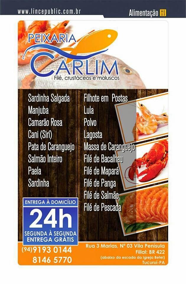 Peixaria Carlim Fernandes - Tudo em Peixes e Filé, Crustáceos e Moluscos! (94) 9193-0144/ 8146-5770