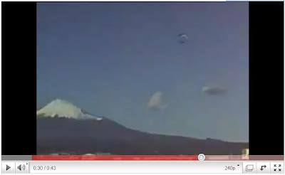 UFO艦隊 - 富士山疑似出現UFO艦隊