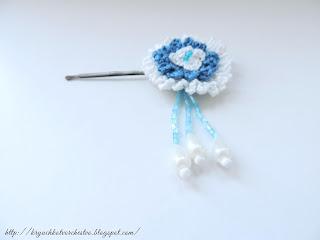 аксессуары для волос, вязание крючком, вязаные цветы,