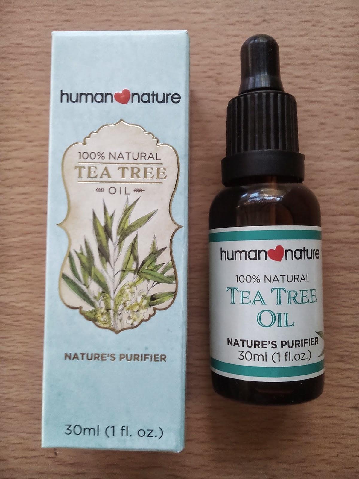 Human Nature tea tree oil