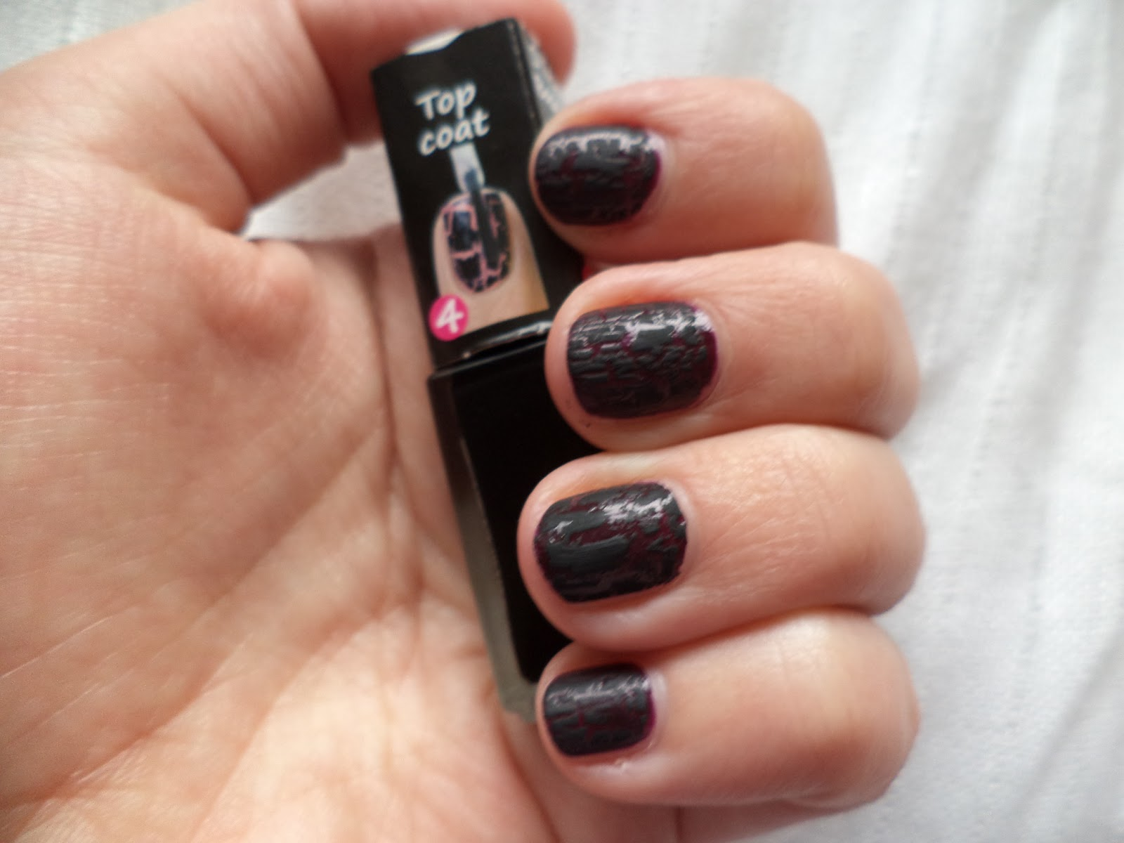 UniqaPoly: Review & Swatches: Depend Cracked Effect nail polish