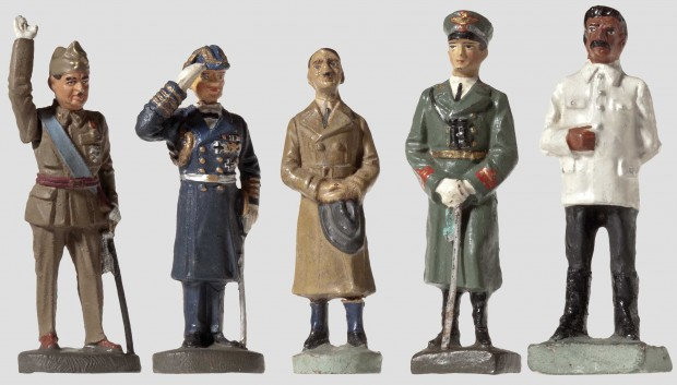 Hitler and Nazi Soldiers Toys