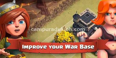 Storage Gold Elixir di Desain War Base