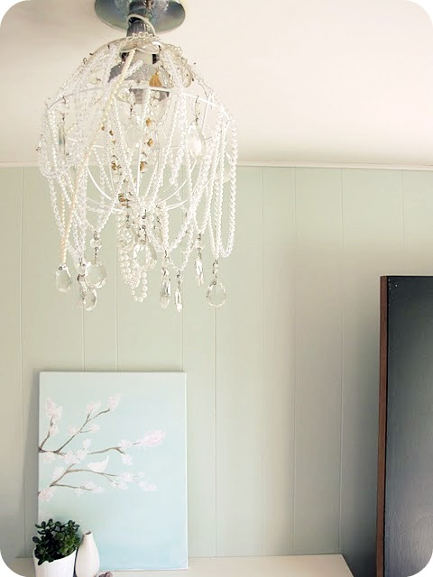 My House Of Giggles Diy Chandelier
