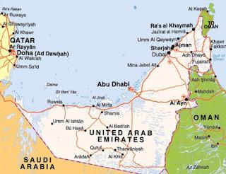 خريطة الشارقة - sharjah map