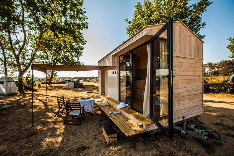 Casas minimalistas y modernas minicasa minimalista for Mini casa minimalista
